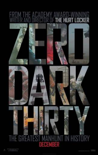 Zero Dark Thirty poster bar none booze revooze