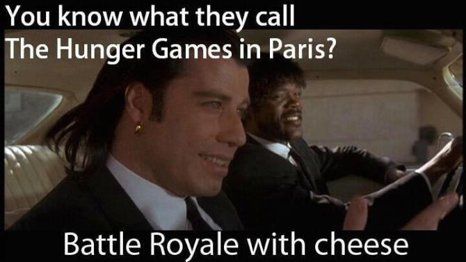 Battle Royale Batoru rowaiaru WTF Bar None