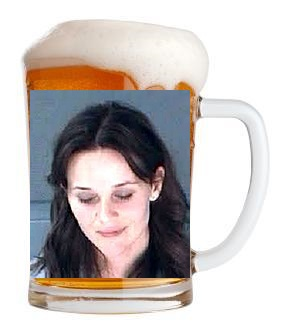 Reese Witherspoon Bar None Dregs Mug Shot