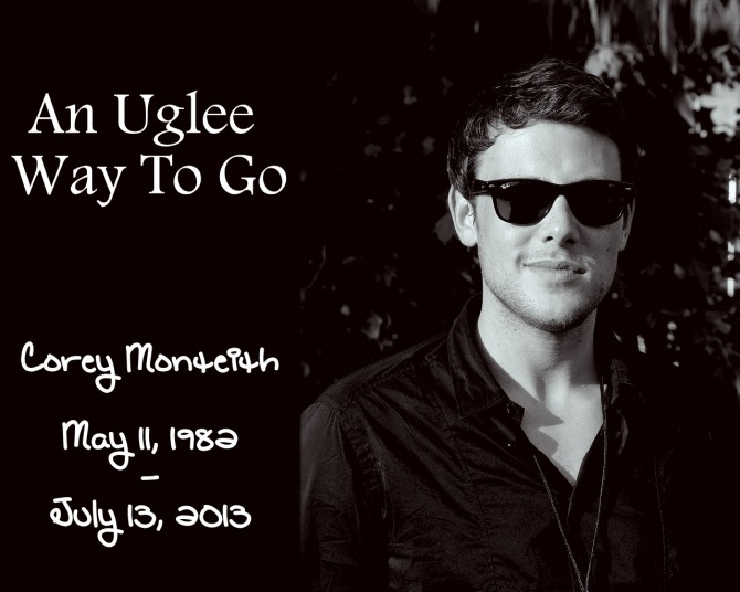 Cory Monteith Reruns In Peace (AlKHall Bar None Diarya)