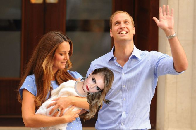 Prince Harry's Royal Baby 01 (Al K Hall Bar None Dregs)