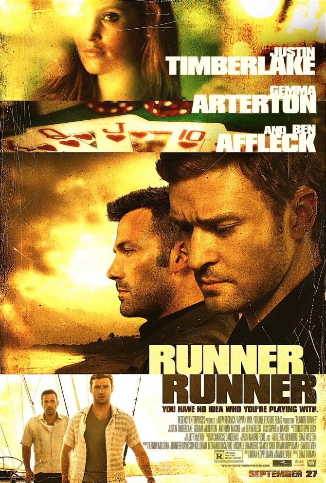 Runner Runner 01 poster AlKHall Bar None Booze Revooze