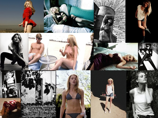 Amber Heard 2013-10-02 in the Bar None Wallpaper Machete Kills