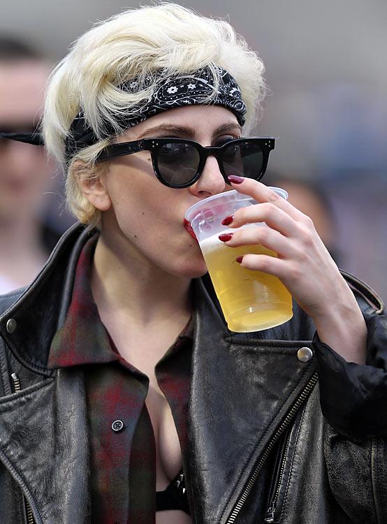 Lady Gaga 07 in the Bar None Machete Kills (AlKHall Bar None Booze Revooze)
