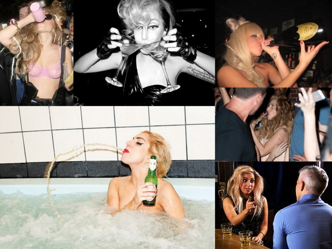 Lady Gaga 2013-10-02 in the Bar None Wallpaper Machete Kills
