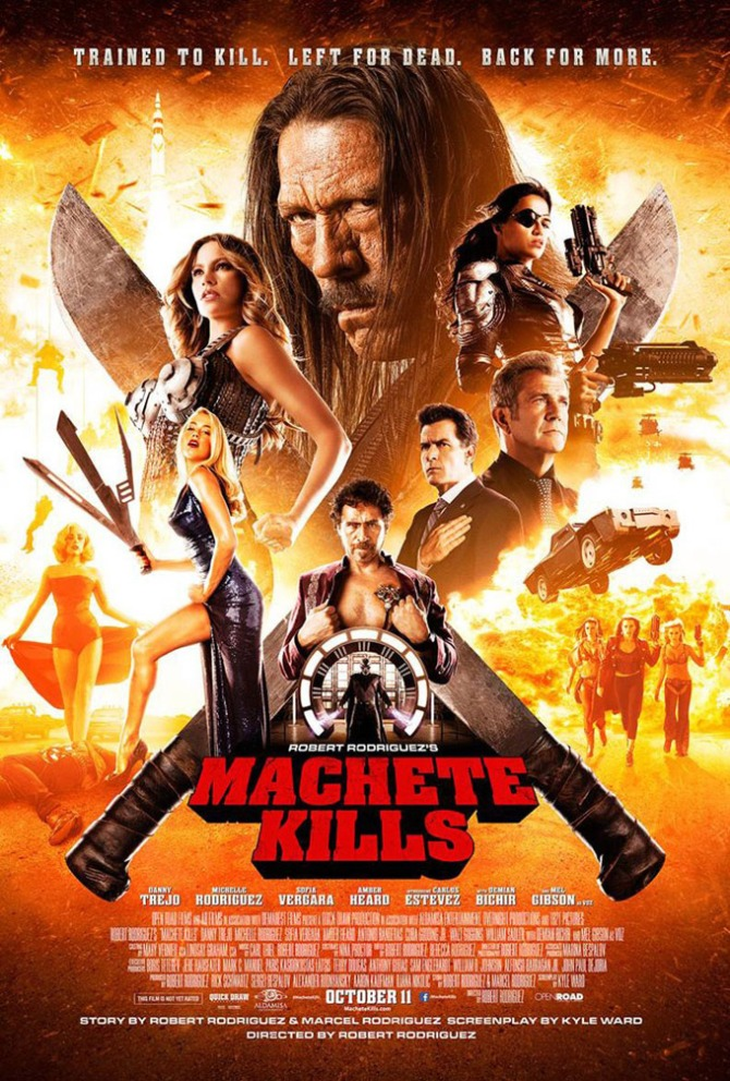 Machete Kills 01 poster AlKHall Bar None Booze Revooze