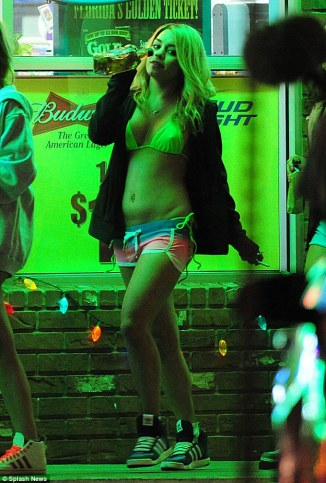 Vanessa Hudgens 07 in the Bar None Machete Kills (AlKHall Bar None  Booze Revooze)