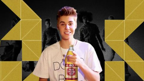 Justin Bieber 02 little girl (AlKHall Bar None Booze Nooze Dregs)