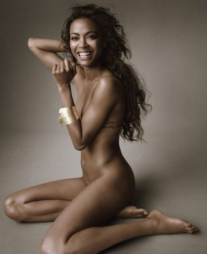 Zoe Saldana 03 nude (AlKHall Bar None)