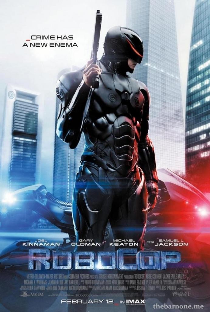 RoboCop 01 poster (AlKHall Bar None Booze Revooze)