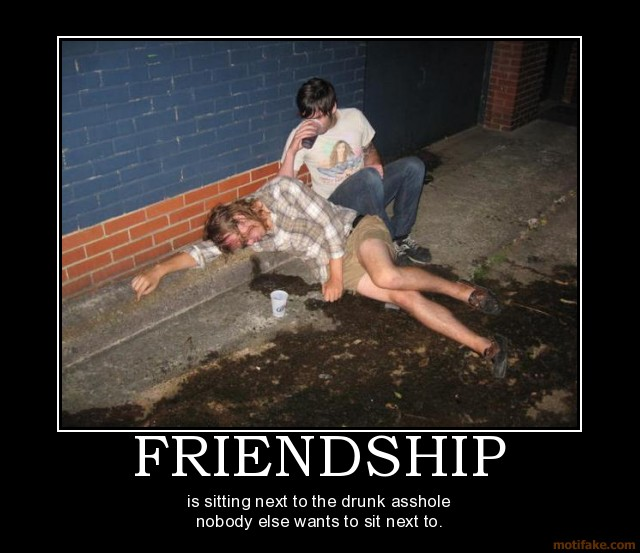 7 reasons 09 Friends (AlKHall Bar None)