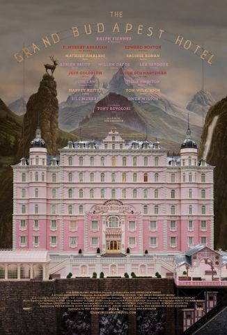 The Grand Budapest Hotel 01 poster (AlKHall Booze Revooze)