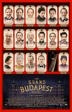 The Grand Budapest Hotel 10 cast (AlKHall Booze Revooze)