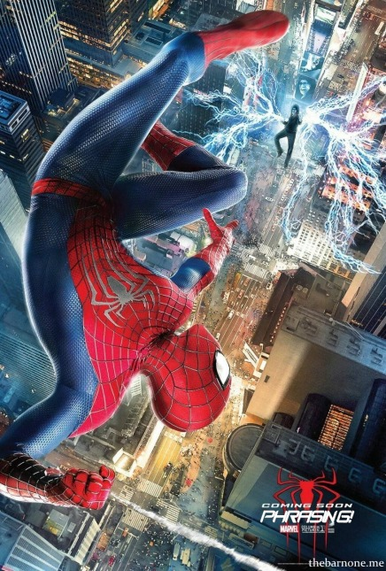 Amazing Spider-man 2 01 poster (Booze Revooze AlKHall)