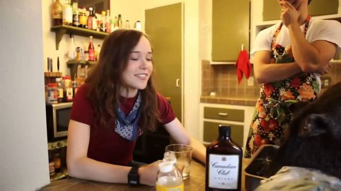 Ellen Page 09 in the Bar None (AlKHall Booze Revooze)