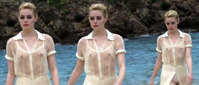 Emma Stone 02 see through (Bar None AlKHall)