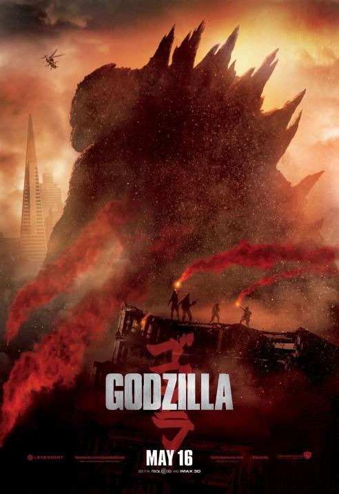 Godzilla 01 poster (Bar None AlKHall)