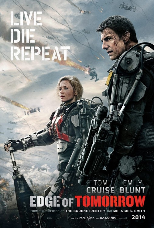Edge of Tomorrow 01 poster (AlKHall Booze Revooze Bar None)