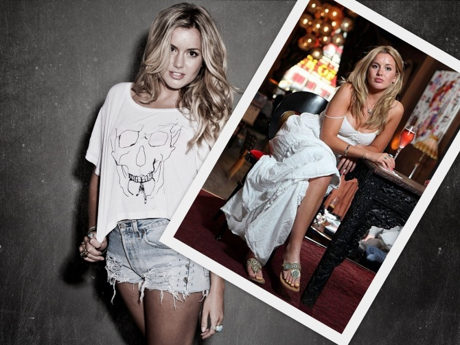 Caggie Dunlop in the Bar None Wallpaper - Click on the shot for a Wallpaper (AlKHall Dregs Bar None)