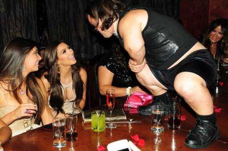 Kim Kardashian Dwarf bachelorette party 02 (AlKHall Bar None Dregs)