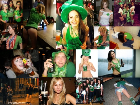 Drunk Irish Girls wallpaper - Click on the shot for a wallpaper (AlKHall Bar None Dregs)