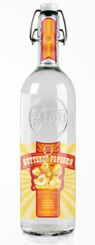 Kiddy Vodka 09 Buttered Popcorn  Vodka (AlKHall Bar None Dregs)