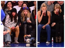 Michelle Rodriguez, Cara Delevignge, Karlie Kloss, Taylor Swift (AlKHall Bar None)