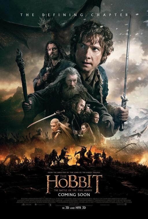 Battle of 5 Armies 01 poster (AlKHall Bar None Booze Revooze)