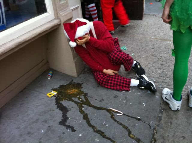 Drunk Santa 03 (AlKHall Bar None)