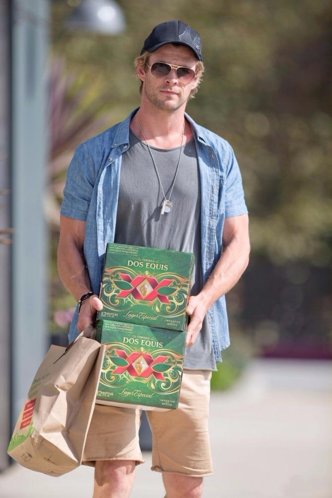 Chris Hemsworth (AlKHall Booze Revooze Audio Dregs)