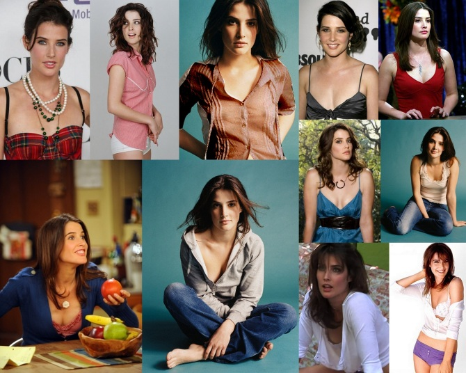 Cobie Smulders  Bar None Wallpaper - click on the shot for a wallpaper (AlKHall Booze Revooze Audio Dregs)