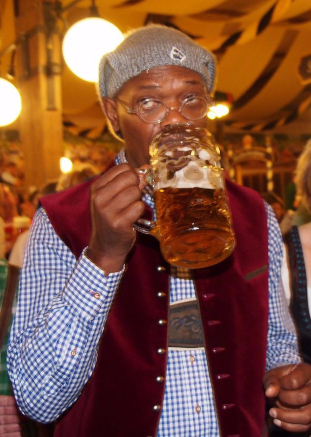Samuel L Jackson  in the Bar None (AlKHall Booze Revooze Audio Dregs)