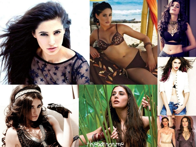 Nargis Fakhri Bar None wallpaper - click on the shot for a wallpaper (Bar None Booze Revooze AlKHall)