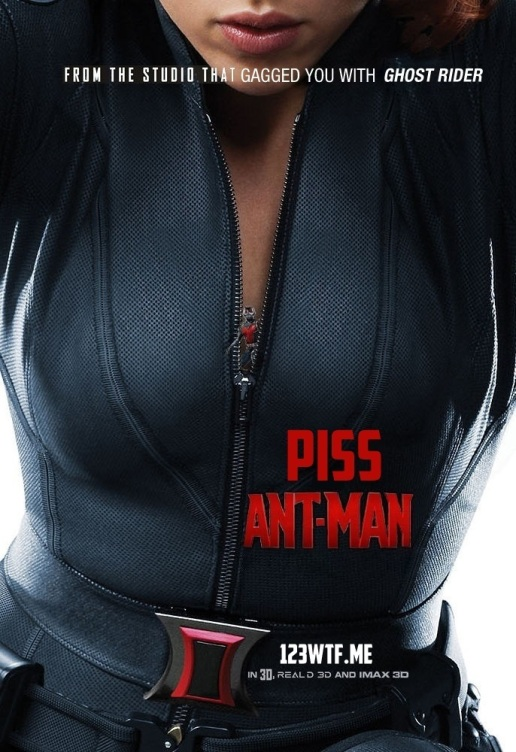Ant-Man parody poster (WTF Watch The Film Saint Pauly)