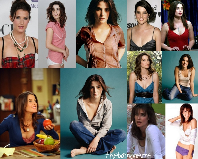 Cobie Smulders 2012-04-30 Collage
