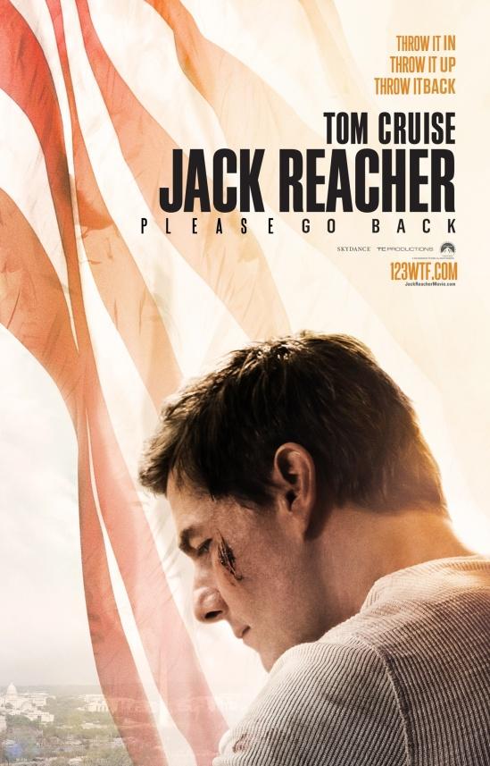 Jack Reacher 01 poster Booze Revooze Al K Hall